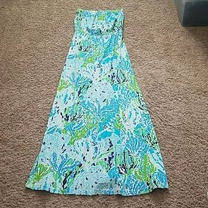 Spa blue LCC maxi dress